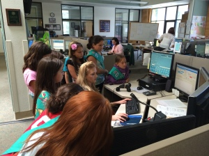 Troop 50786 - listening in on 911 calls