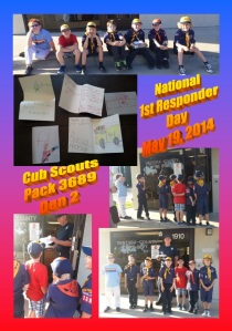 Boy Scouts @ Thank you Day